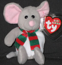 TY TINSEL the MOUSE JINGLE BEANIE - MINT with MINT TAGS