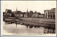 SAUMUR Maine-et-Loire ~1920 Vue Générale CPA Francaise