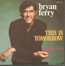 This is Tomorrow (French Pressing) by Bryan Ferry- 45 Single
