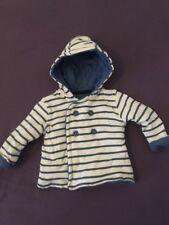 Baby Boy Giacca Soft 3-6 mesi blu a righe bianco