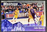 Luka Doncic 2019-20 Panini Mosaic Montage Dallas Mavericks #20 L1