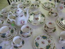 Huge Royal Albert England Berkeley Coffee Tea Set - 49 pieces