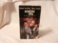 Analyze This (VHS, 2000, Collectors Edition) Billy Crystal, Robert DeNiro