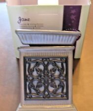 1 Scentsy New In Box Jane Full Size Warmer Retired Discontinued Rare