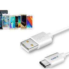Durable Soft USB-C Cable Fast Charger Type-C Cord 3.3,4.9,9.8ft for Smartphone