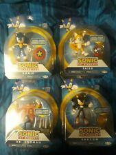 Jakks Sonic The Hedgehog Wave 1 Lot Of 4 Inhand Tails Sonic Shadow Dr. Eggman