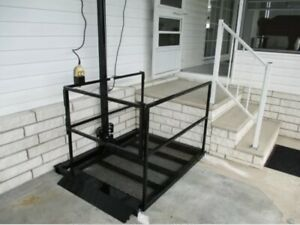 Wheelchair Lift, Electric Plug-in, Deluxe Model