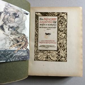 Arthur Rackham — Ingoldsby Legends — tirage de luxe n°/560 — Dent, Dutton — 1907