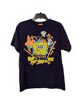 Nickelodeon SpongeBob SquarePants T-shirt Black Sz. 16/18 You Wanna Piece Of Me!