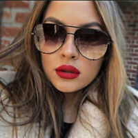 Oversized Aviator Sunglasses Women Fashion Designer Outdoor Shades Glasses UV400