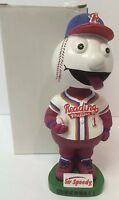 Reading Phillies 2002 Screwball Mascot Bobble Head Philadelphia Phillies SGA
