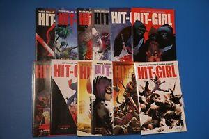Image Comics HIT-GIRL Vol 2 #1-12 Mark Millar, Jeff Lemire KICK-ASS