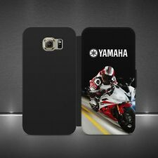 Yamaha Motorcycle Logotipo De lujo Abatible Billetera Estuche Cubierta Para Iphone X