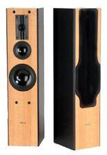 CAT LEB-404B 3-way HiFi Floor-Standing Speaker (Beech) Pair - NEW