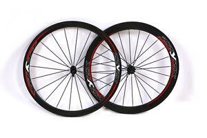 Corratec ZZYZX Tubular Carbon Road Bike Wheelset 11 Speed QR Rim Brake