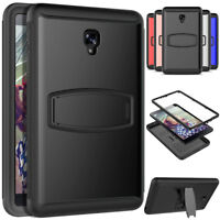 Stand Armor Case For Samsung Galaxy Tab A 8.0 SM-T380 T385 with Screen Protector