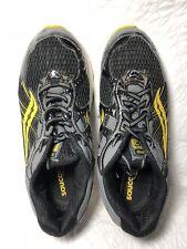 Saucony Progrid Ride 5 Boys Black/yellow/grey size 7B