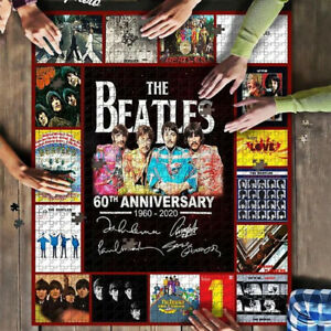 500 Pcs Wooden puzzle Beatles Jigsaw large puzzle Adult Game Toy Gift