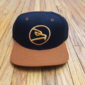 Vtg NOS New Era Hat Louisville IceHawks Cap SnapBack 90s ECHL Penguins Atlanta