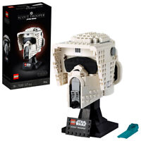 Lego 75305 Star Wars Scout Trooper Buildable Helmet Building Set 471 Pc Ages 18+