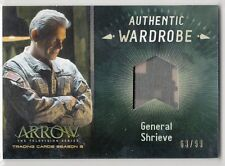 Cryptozoic Arrow Season 3 Wardrobe #M11 General Shrieve 63/99