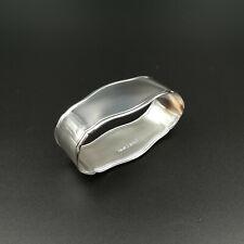 """Serviettenring GEBR. REINER - """"Seckenrand"""" groß - 925 Silber, poliert"""