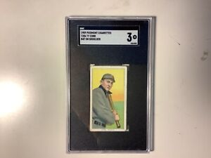 Ty Cobb t206 Piedmont 150 subjects Bat On Shoulder SGC 3 VG Nice for the grade