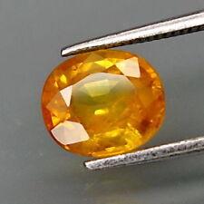 TOP SAPPHIRE : 1,36 Ct Natürlicher Gold Gelb Saphir aus Ceylon
