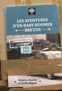Lot de 10 livres LES AVENTURES D'UN BABY BOOMER BRETON