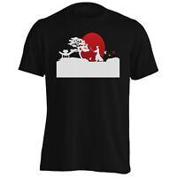 Japan Samurai Sunset Funny Novlety New Men's T-Shirt/Tank Top k57m