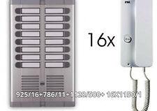 URMET 925//216 Pulsantiera citofonica  16 posti su due file incasso New in Box