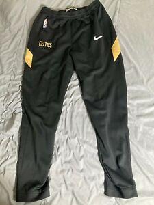 Nike NBA Boston Celtics Therma Flex CD5475-011 Tearaway Black Pants Size L tall