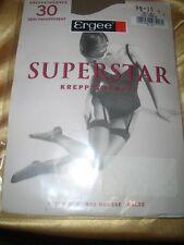 Ergee Super Star Strapsstrümpfe Feinstrümpfe Gr. 9,5-10 PERLE Stockings BAS OVP