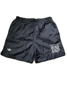 RARE Vintage 1994 Adidas USA World Cup Soccer Shorts Black Mens Size Medium M