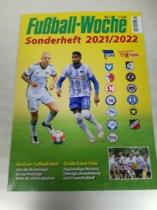 Fußball Woche Sonderheft Bundesliga 2021/2022