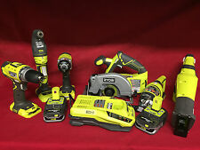 NEW Ryobi ONE+ 18-Volt Lithium-Ion Ultimate Combo Kit (6-Tool) P884