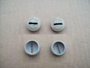 2 caches poussière NERVAR 22mm