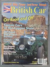 BRITISH CAR MAGAZINE 1996 AUGUST SEPTEMBER MGB GT RILEY COOPER TRIUMPH ROVER