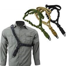 Gun Sling Belt Adjustable Single Point Heavy Duty Military Rifle Mount Strap