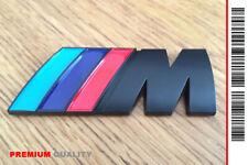 """SCRITTA STEMMA LOGO ADESIVO """"BMW M"""" METALLO LUCIDO CROMATO [PREMIUM QUALITY]"""