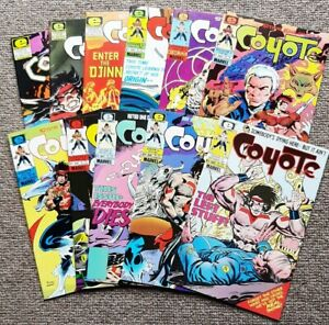 Epic (Marvel) Comic Collection - Coyote Vol 1 - #1 to #8, #10, #13, #15.