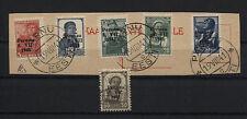Estland Pärnu (Pernau) 5-9 I auf Briefstück BPP-geprüft 10 II als Zugabe(B06483)