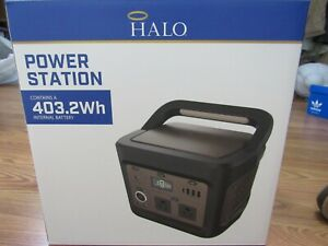 HALO, NEW POWER STATION HAND HELD WHITE/GOLD PVC W/403.2WH INTERAL BATTERY