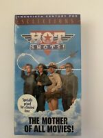 NEW Sealed Hot Shots! - VHS Tape Movie - Action / Comedy - Charlie Sheen