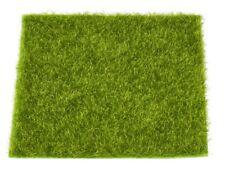Gras MATTE 14 x 14 CM HOBBYFUN Modellbau Mini-Garten Kunstrasen RASEN 65444