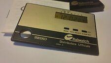 Sveglia da viaggio Seiko ultra piatta 4mm. SEIKO allarm clock credit card size