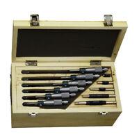 Outside Micrometer 0-150mm/ 0.01mm 6 PCS Machinist Tool Set Precision Carbide