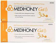Medihoney Wound Gel Ointment -1.5 Ounce Tube -2 pk 31815