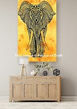 Elephant Beach Throw Yoga Mat Wall Hanging Poster Tapestry Indian Table Cloth