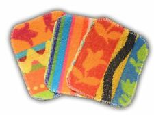 New EUROSCRUBBY Euro Scrubby, Cleaning Cloth Non Scratch Multi Colour Small